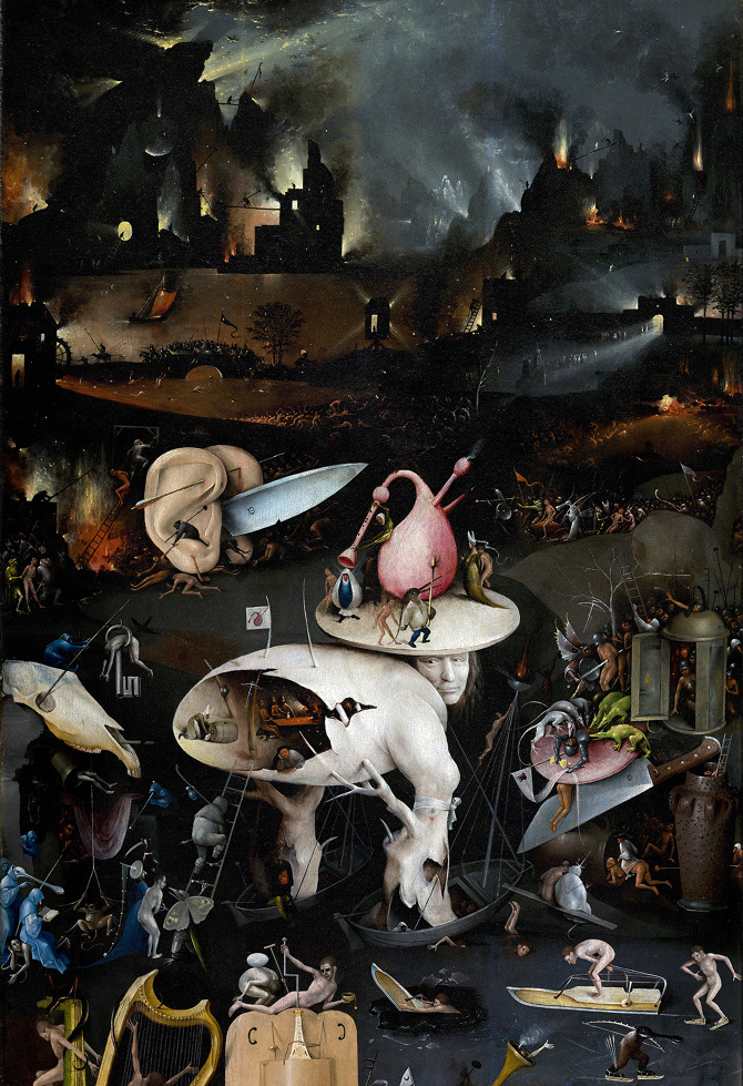 bosch the garden of earthly delights. Bosch The Garden Of Earthly Delights